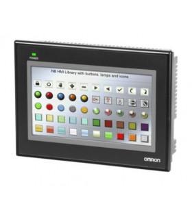 "NB7W-TW01B OMRON Terminal NB de 7"" TFT Color, 800 x 480 Ethernet, USB maestro"