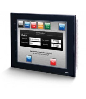 "NS10-TV01B-V2 Omron terminal TFT 10,4"", HMI con Ethernet color negro"
