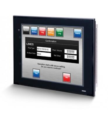"""NS10-TV01B-V2 Omron terminal TFT 10,4"""", HMI con Ethernet color negro"""
