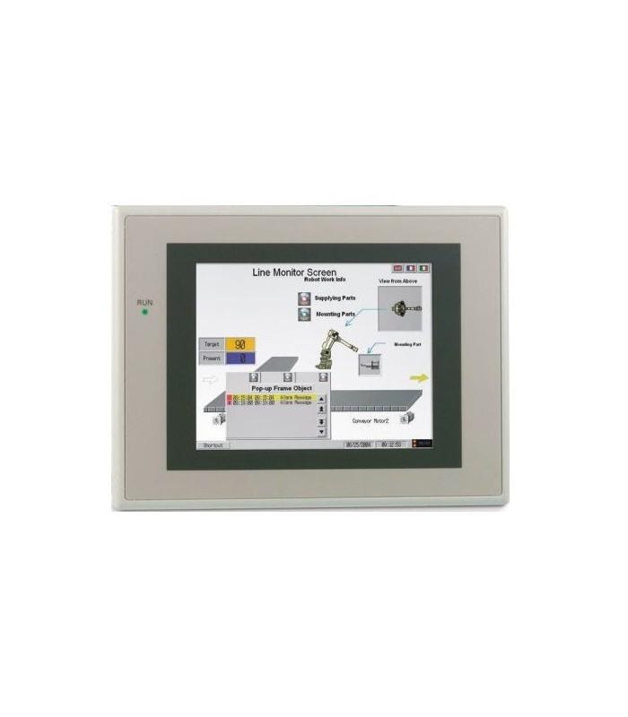 "NS10-TV01B-V2 Omron terminal TFT 10,4"", HMI con Ethernet color negro 640x840 pixeles"