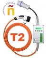 Equipo de recarga  Portátil Wallbox OUT T2 conector Tipo 2