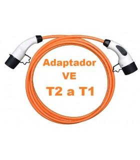 Cable de recarga 32A Tipo2 a Tipo 1 5m