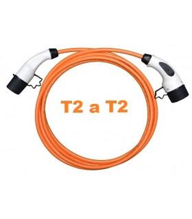 Cable de recarga 32A Tipo2 a Tipo2, de 5m