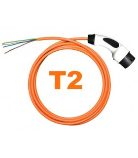 Conector Tipo 2 Cable Tipo 2 (IEC 62196)  (32A) + 5 metros