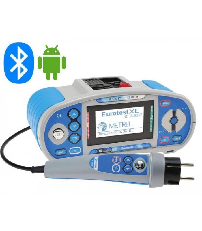 MI 3102 BT EurotestXE Comprobador multifunción de instalaciones