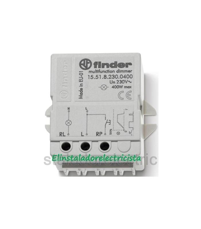 15.51.8.230.0400  Telerruptor electrónico, Dimmer 400W Finder