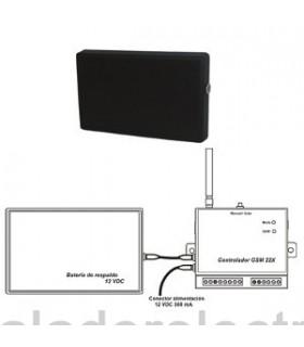 Controlador GSM hasta 32 sondas alarmas de temperatura