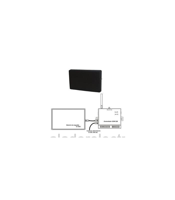 Controlador GSM de hasta 32 sondas para alarmas de temperatura