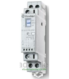 Contactor modular 25A 2 N/A Finder  22.32.0230.4340