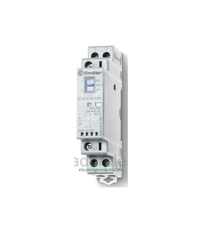 22.32.0230.4340 Finder contactor modular