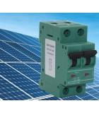 Mangnetotérmico bipolar DC para Fotovoltaica