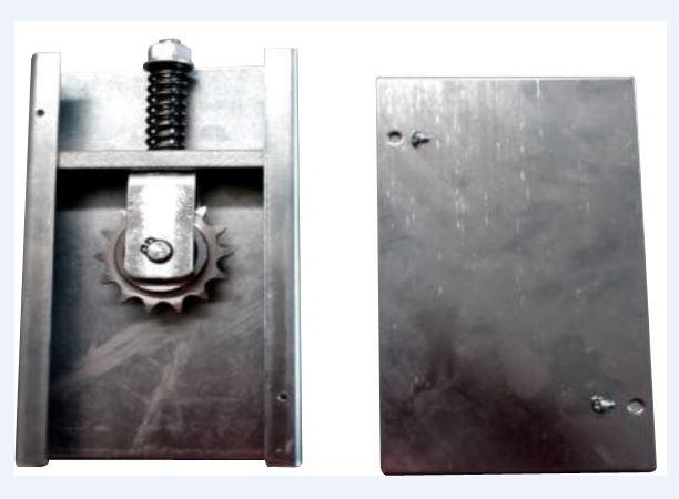Kit herrajes para puerta telesc pica corredera de 6m for Herrajes puertas correderas garaje
