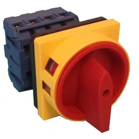 Interruptor Rotativo Seccionador Trif 225 Sico 25a Tetrapolar
