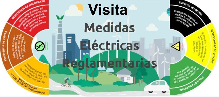 Visita nuestra zona web de Medidas Eléctricas Reglamentarias
